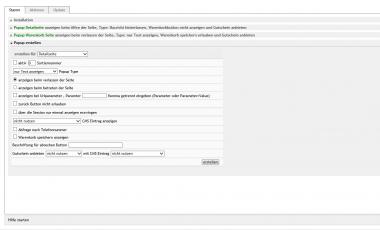 Exit Intent Popup Gererator und Warenkörbe speichern mit eMail Funktion