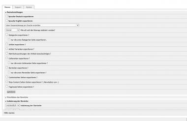OXID eShop Google Sitemap Modul