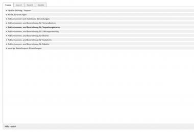 OXID Shop Modul Bestellexport für Lexware