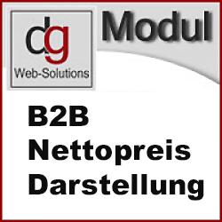 OXID B2B Nettopreis Darstellung CE