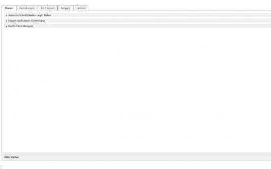 OXID eShop Amicron Anbindung