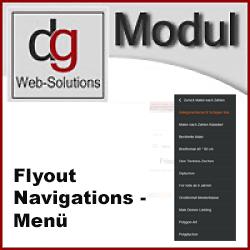 OXID Flyout Navigationsmenü für die Mobile Darstellung