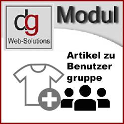 OXID Modul Artikel und Kategorie zu Benutzergruppe