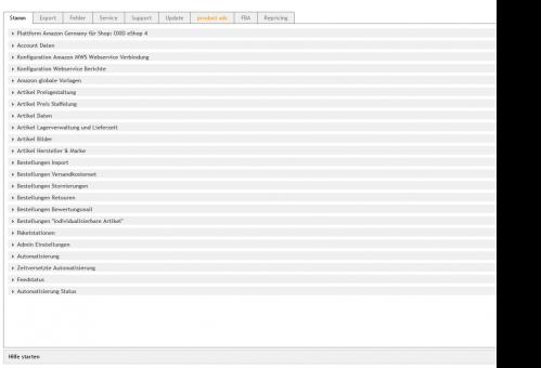 Amazon Schnittstelle für OXID eShop , Artikel Export und Bestellimport