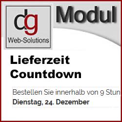 OXID Modul Versandzeitpunkt / Lieferzeit Countdown CE