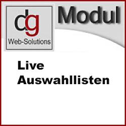 OXID Live-Auswahllisten Modul