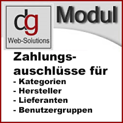 OXID Modul Zahlarten abhängig vom Artikel ausschliessen. CE