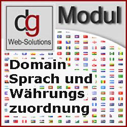 OXID Shop Modul Domain zur Sprach und Währung Zuordnung