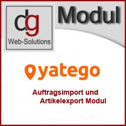 Shop Modul Yatego to OXID 2.0