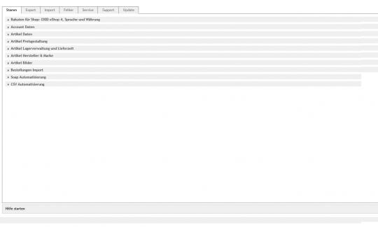 Rakuten to OXID - Artikelexport und Bestellimport für OXID Shop