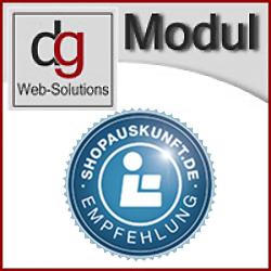 OXID Shop Modul shopauskunft.de - Bewertungsportal, Schnittstelle