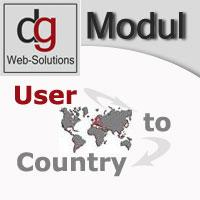 OXID Shop Modul User to Country